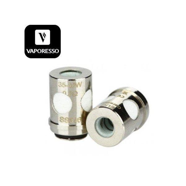 Pack de 5 résistances EUC Ceramic SS316L- Vaporesso