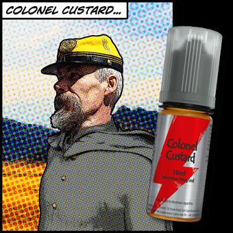 Flacon e-liquide Colonel Custard T-juice