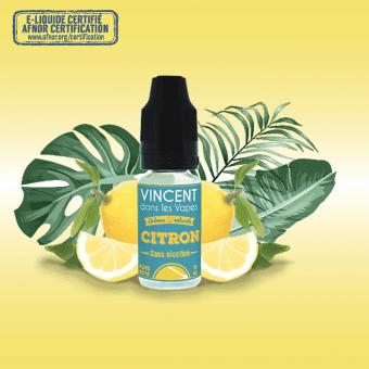 Eliquide Citron de vdlv