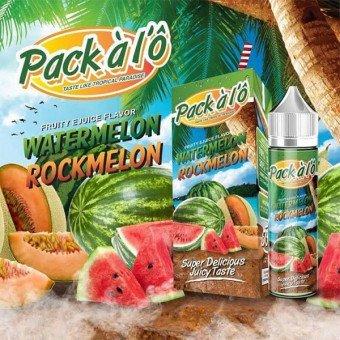 E-liquide  Watermelon-Rockmelon 50 ml - Pack à l'Ô