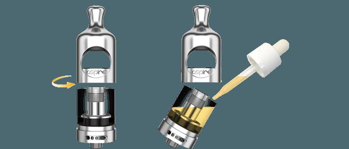 nautilus 2 aspire remplissage