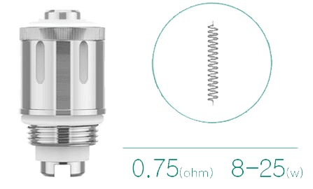 resistance gs air ijust start eleaf