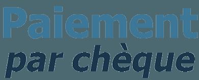 logo paiement par chèque